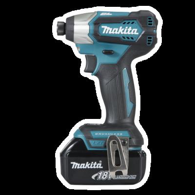 "Makita DTD155RTE - aku rázový šroubovák 1/4"" Li-ion LXT..."
