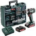 Metabo  SB 18 L Set MD - příklepový akušroubovák 2x18V/2,0Ah