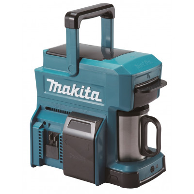 Makita DCM501- aku kávovar Li-ion LXT 18V, bez aku Z