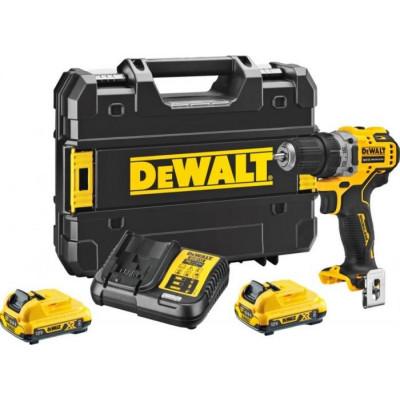 DeWalt DCD701D2 - akušroubovák 12V/2,0Ah