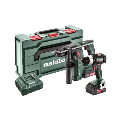 Metabo COMBO SET 2.5.2 18V - aku sada BS 18 LT BL...