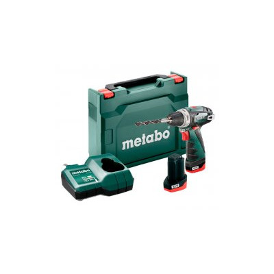 Metabo PowerMaxx BS Basic 2x2,0Ah, LC 12 - akušroubovák