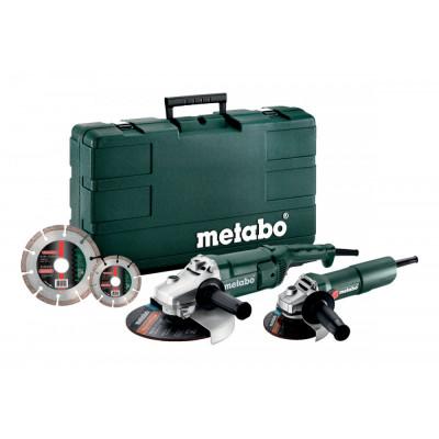 Metabo Combo Set WE 2200-230 + W 750-125 + 2xDiakotouč