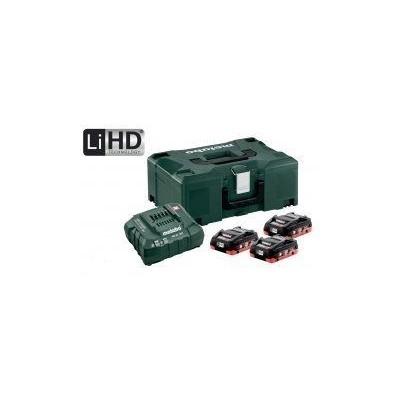 Metabo Basic set 3xLiHD 4,0Ah + ASC 30-36V + metaloc